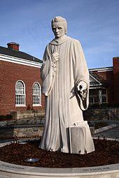 Noah Webster statue by Korczak Ziółkowski